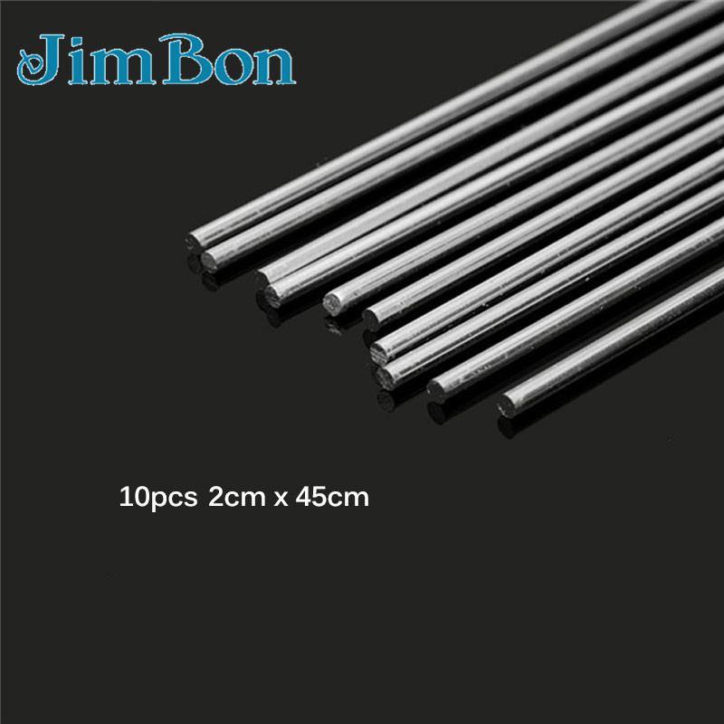 10Pcs 2mm x 450mm Aluminium Magnesium Low Temperature Welding Brazing Rod /< 480°