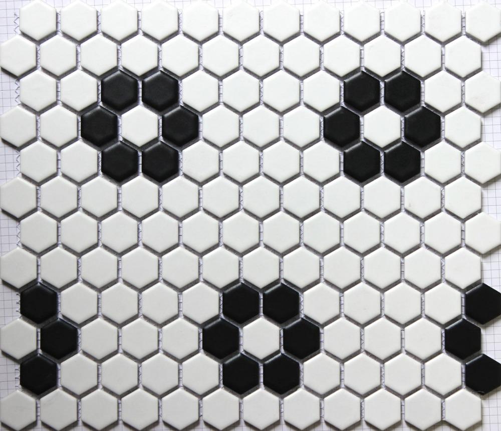 Noir tuile hexagonale achetez des lots à petit prix noir tuile ...