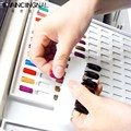 Pro High-end Nail Art Salon Display Cards Paint 216 Or 120 Color Fingernail Gel Polish Box Show Chart Blank Platter Book Tools