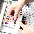 Pro High end Nail Art Salon tarjetas gráficas pintura 216 o 120 Color de uñas de Gel esmalte de caja demuestre gráfico en blanco plato herramientas de libros