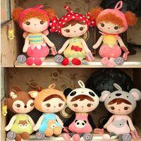 50cm New Fashion Cute Metoo Cartoon Stuffed Animals Angela Plush Toys Sleeping Dolls For Children Toy