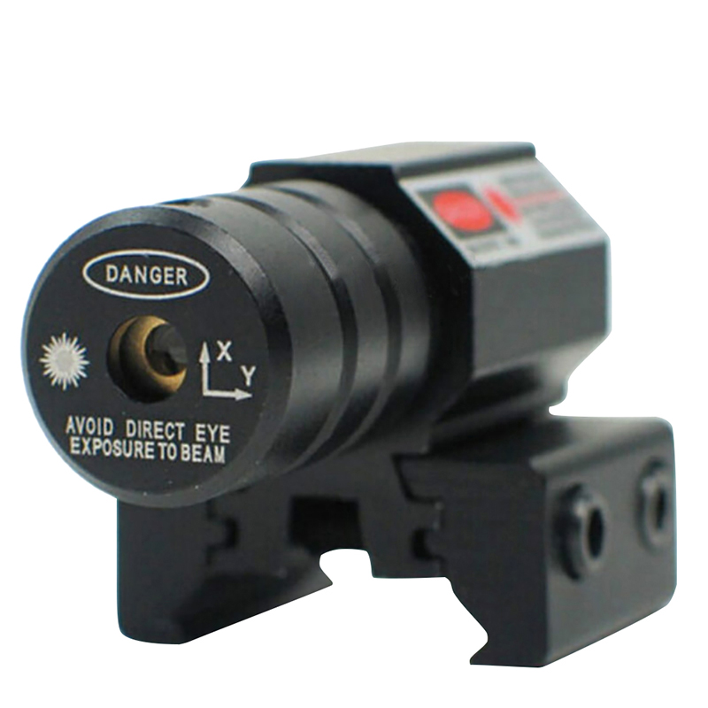 Image 2 - Red Dot Laser Sight  50 100 Meters Range 635 655nm For Pistol Adjust 11mm&20mm Picatinny Rail For HuntIing CY1-in Lasers from Sports & Entertainment