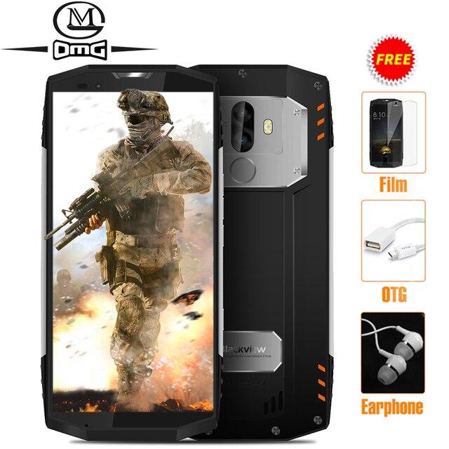 "Blackview bv9000 IP68 Водонепроницаемый противоударный 18:9 смартфон 5.7 ""4 ГБ + 64 ГБ P25 2.6 ГГц 4180 мАч Android 7.1 13MP NFC мобильный телефон"