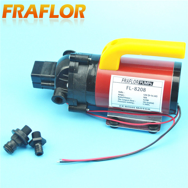 Dc 120w automatic switch micro diaphragm pump high pressure electric dc 120w automatic switch micro diaphragm pump high pressure electric water pump mini self priming sprayer car washer pump in marine pump from automobiles ccuart Images