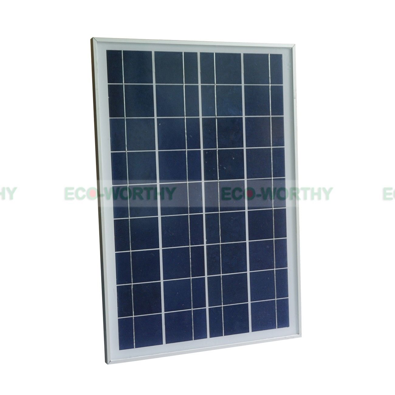 25W Solar Panel Submersible Fountain Water Pump Kit & LED Light Watering