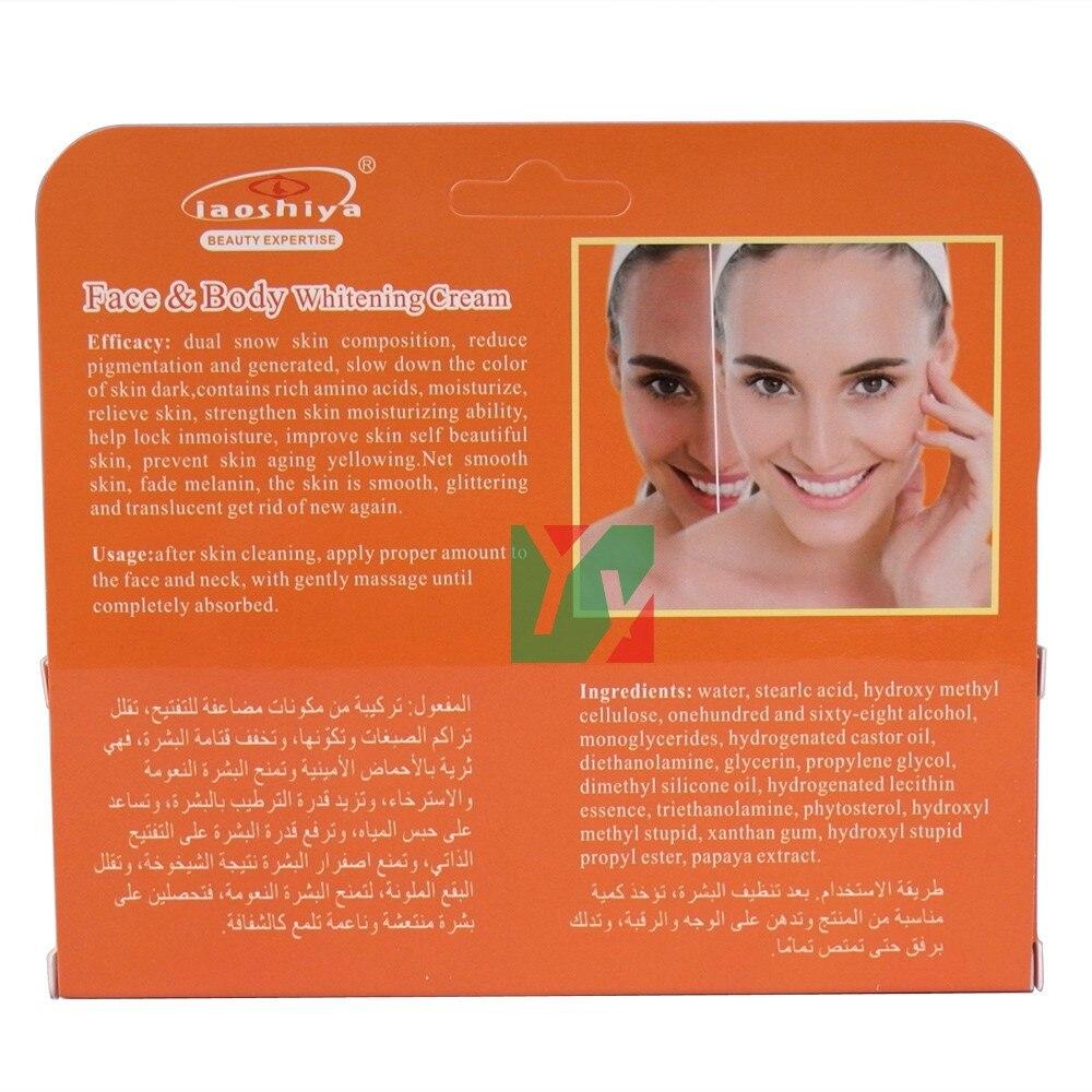 Laoshiya Whitening Papaya Beauty Cream for Dark Skin Armpit Knee Lightening Bikini Underarm Inner Thigh 50ml pcs in Body Self Tanners Bronzers from Beauty Health