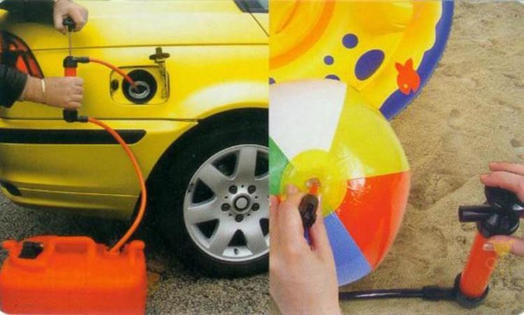 Автостайлинг, портативный автомобильный сифонный шланг, жидкое масло, газ, вода, ручная насосная присоска, пластиковая труба, многофункциональный надувной насос