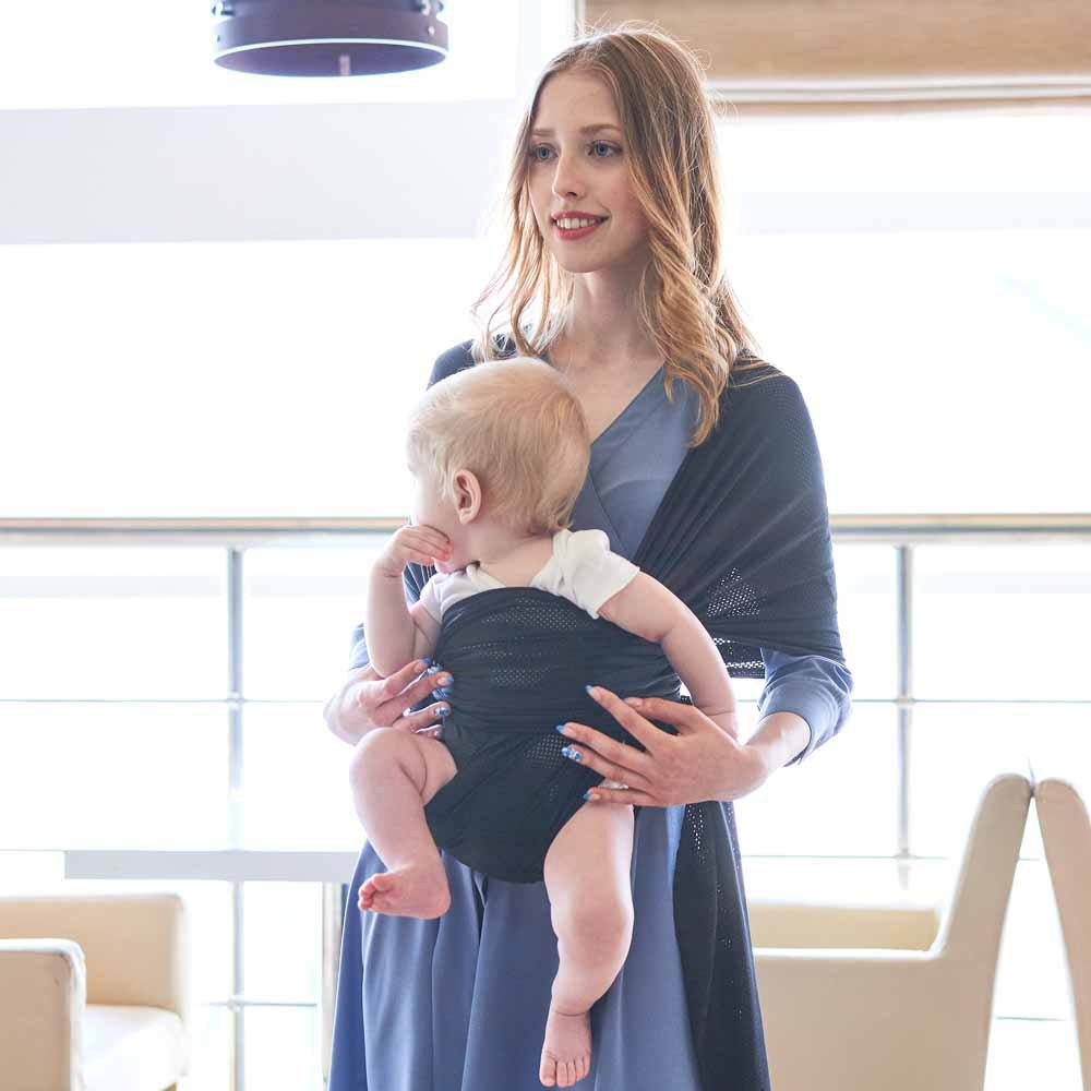 Mesh Baby Sling Breathable Hipseat for Newborn Baby Carrier Porta Bebe Soft Infant Baby Accessories Comfortable Nursing Cover