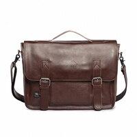 Hot Selling Men Bag Crazy Horse PU Leather Bags Men Messenger Bags Crossbody Shoulder Men S