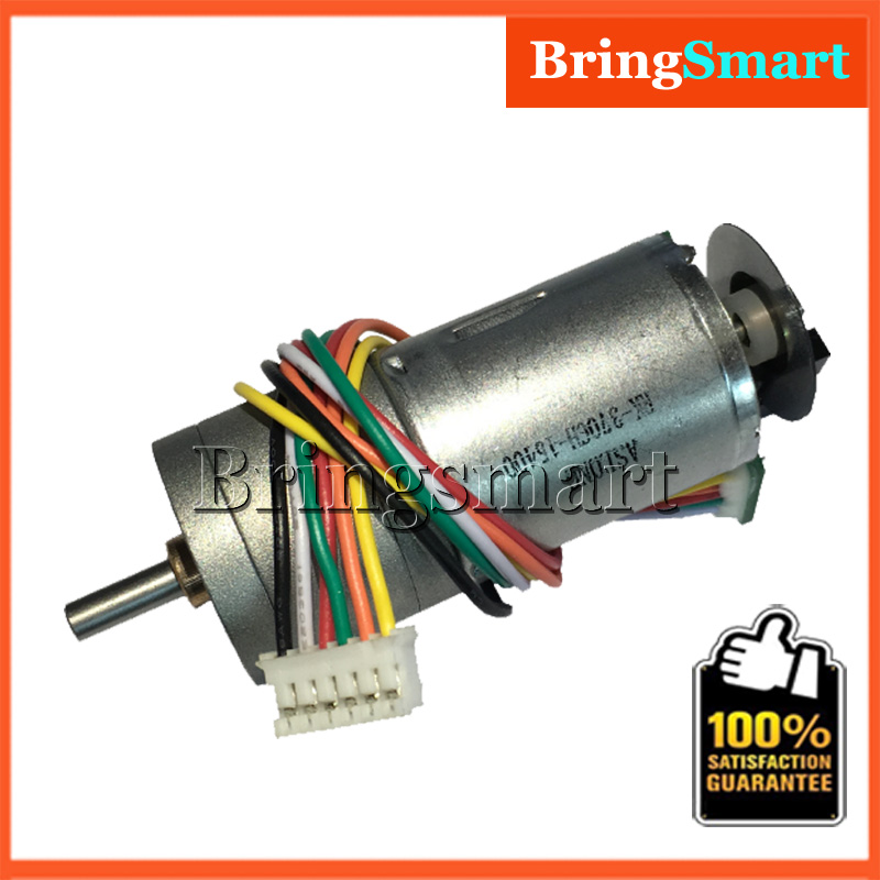US $13 66 6% OFF|Bringsmart GA25 371G Photoelectric Encoder 12V DC Gear  Motor 6 24V 8 6 977rpm Optical Encoder Motor With Encoder Disk For DIY-in  DC