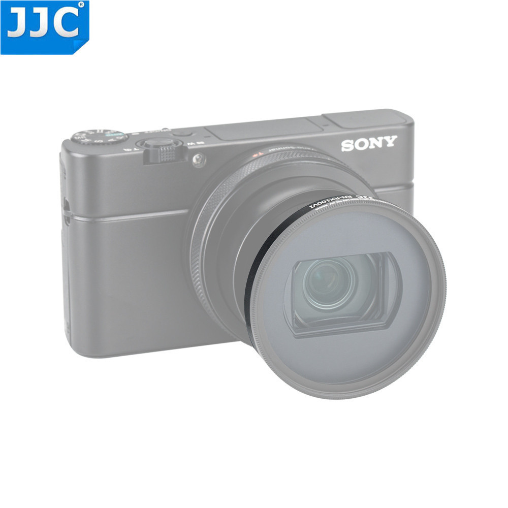 Jjc Rx100 M6 Filter Mount Adapter For Sony Rx100 Vi Camera Lens Cap