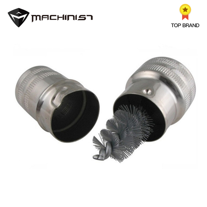 1pc Stainless Steel Wire Brush Cleaner Corrosion For Car Battery Terminal Clip Clamp Connector