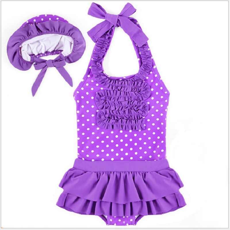 2020 del bambino Delle Ragazze Vestito di Costumi Da Bagno Per Bambini 3 Pezzi Costumi Da Bagno bikini Vestito Della Tuta Set Bambini Costume da bagno Del Bambino nuoto