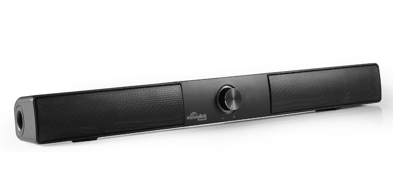 Sunnylink 15W Wireless Bluetooth Soundbar Super Bass Subwoofer bluetooth speaker Maxxbass DSP sound bar for TV/Computer/phones