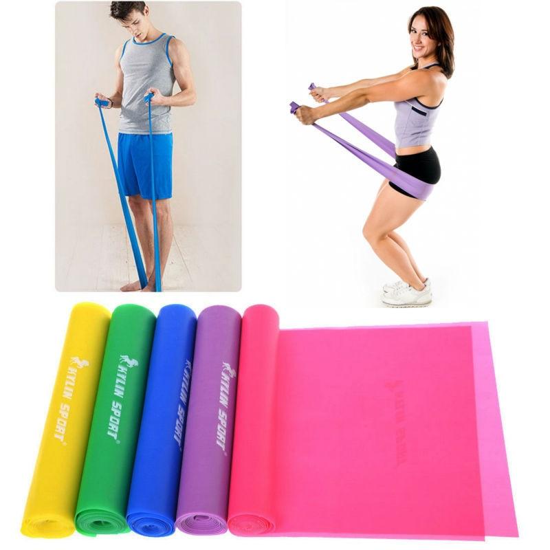 1,5 м йога пилатес съпротива стречинг - Фитнес и културизъм - Снимка 1