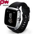 Pinwei 3g wcdma android reloj teléfono smart watch con 1g de ram 8g/4g rom smartwatch teléfono basado en android 5.1 para iphone android