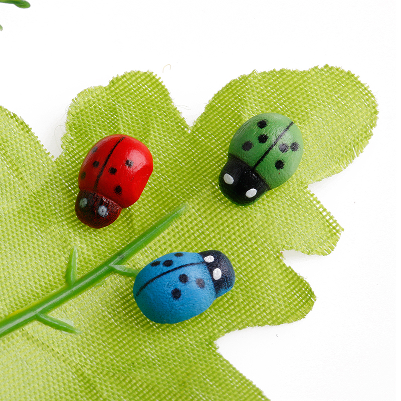 New Colorful Beetle Ladybug Garden Ornament Figurine Miniature Dollhouse  Decor On Aliexpress.com | Alibaba Group