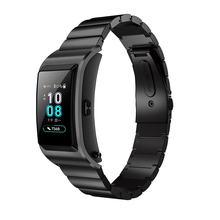 Купить с кэшбэком Accessories Stainless Steel For Huawei B5 Smart WatchStrap Watch Bands For Huawei B5 Watchband metal Bracelet Wrist Band Luxury