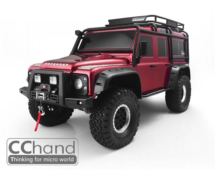 Pare-chocs avant en métal pour 1/10 TRAXXAS TRX4 D110 Rc pièce de voiture sur chenilles