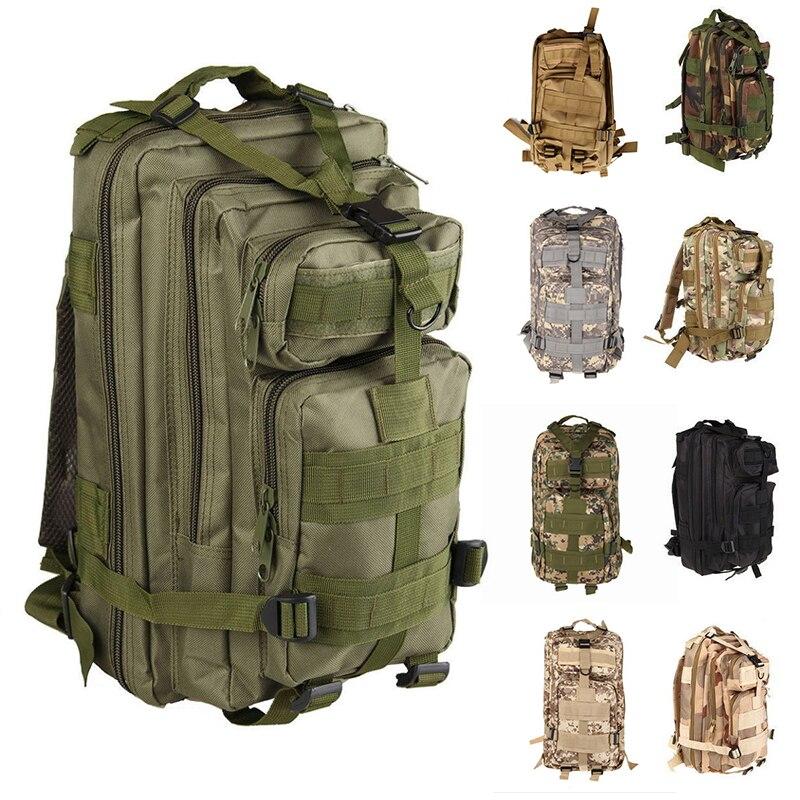High Quality <font><b>Outdoor</b></font> Waterproof Oxford Hunting Camouflage Backpack <font><b>Bag</b></font> Military Army Tactical Rucksack Sport Travel Trekking <font><b>Bag</b></font>