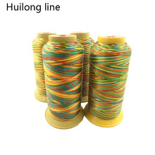 Color Rainbow Line 150D High Strength nylon Sewing thread Leather accessories Clothing Accessories