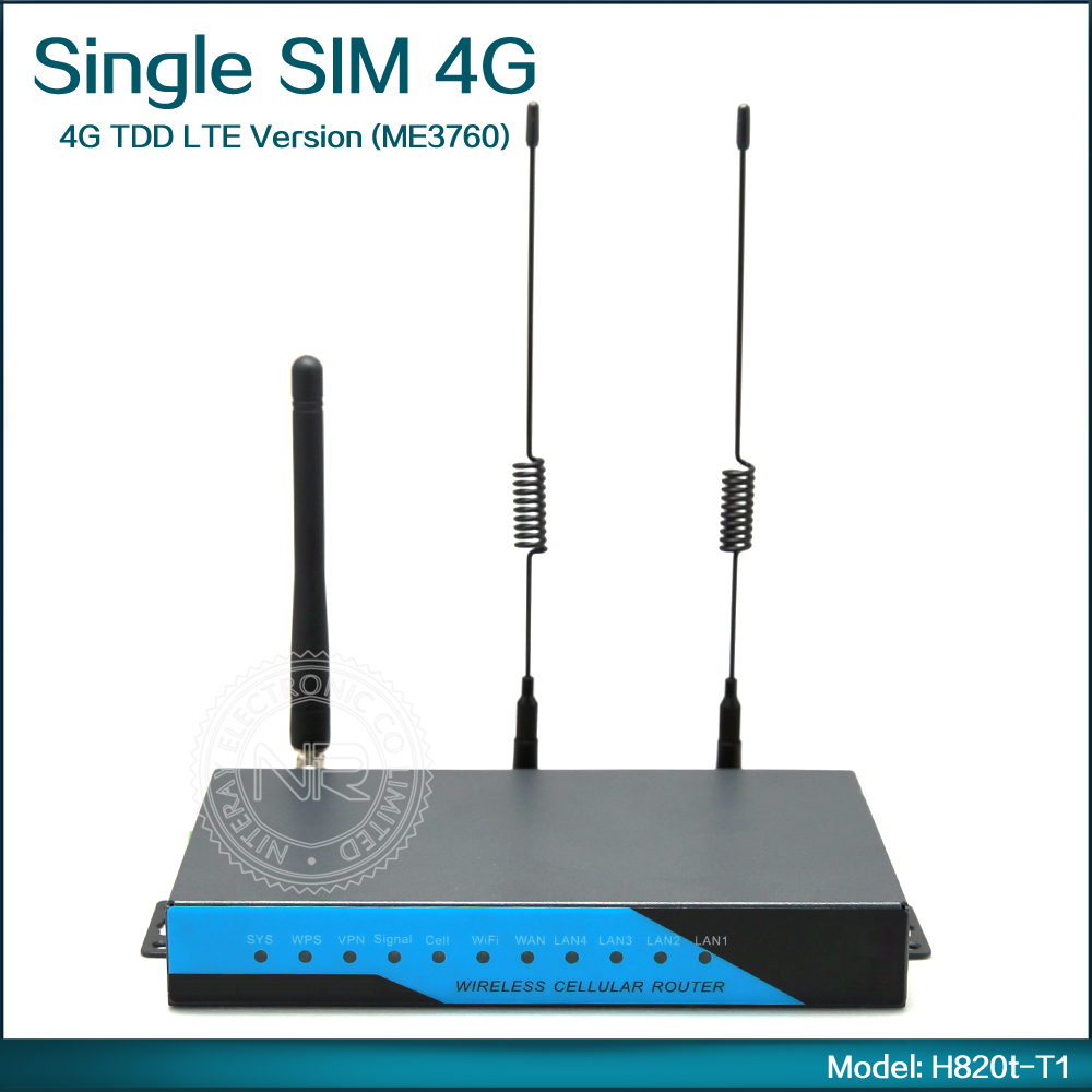Cheap 4g Wifi Router 3g Router Sim Card Slot With External Antenna ( Model: H820t-T1 )