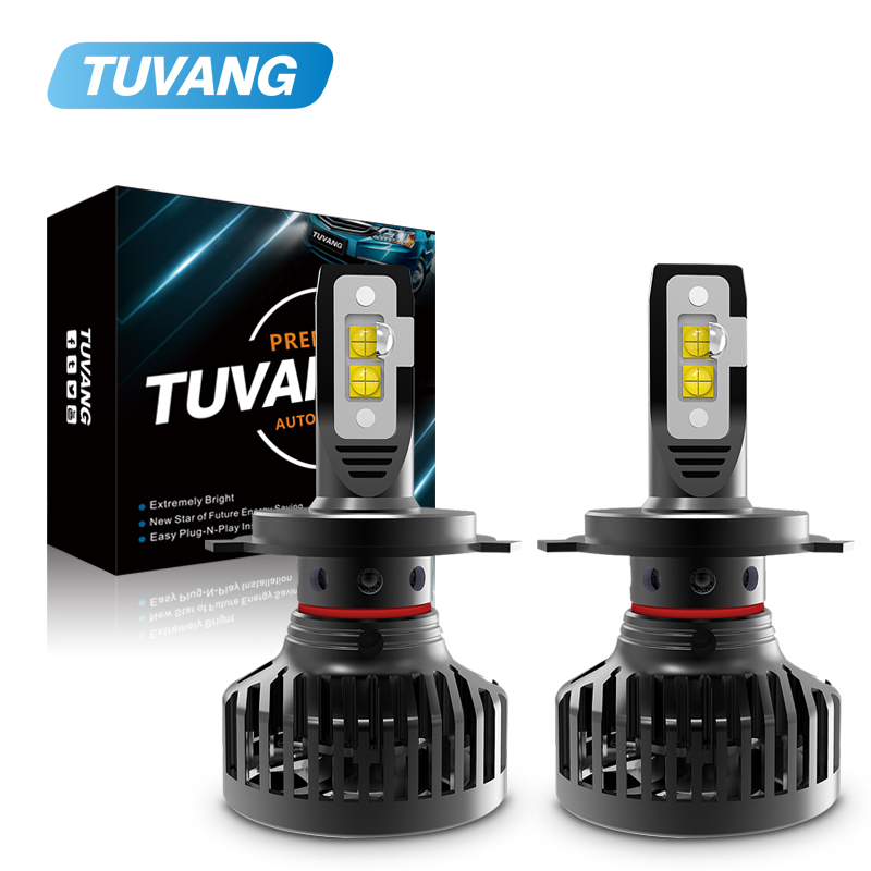 2x 9000LM 90W Car <font><b>Led</b></font> Headlight Light CREE Chip XHP70 XHP50 <font><b>H4</b></font> Hi/Low 9003 HB2 H7 H8 H11 9005 HB3 9006 HB4 Auto Bulb <font><b>Canbus</b></font> image