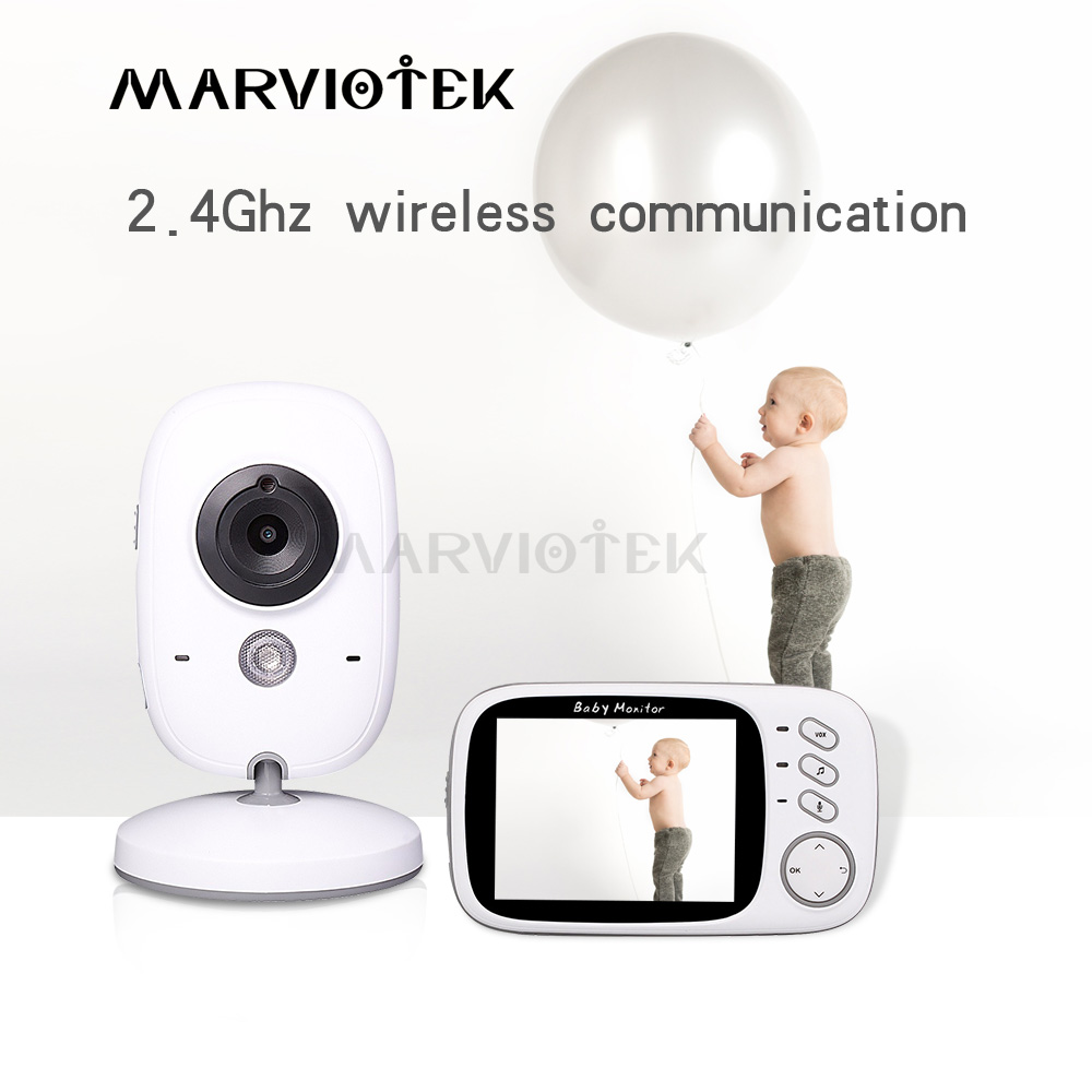 VB603 3.2 inch Video Color Baby Monitor Wireless High Resolution Baby Nanny Security Camera Night Vision Temperature MonitoringVB603 3.2 inch Video Color Baby Monitor Wireless High Resolution Baby Nanny Security Camera Night Vision Temperature Monitoring