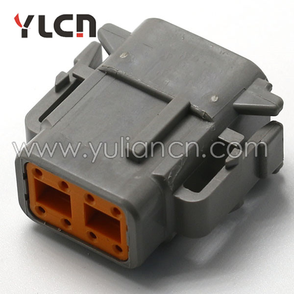 Admirable 8 Pin Female Waterproof Auto Wire Harness Connector With Terminal Wiring Cloud Hisonuggs Outletorg