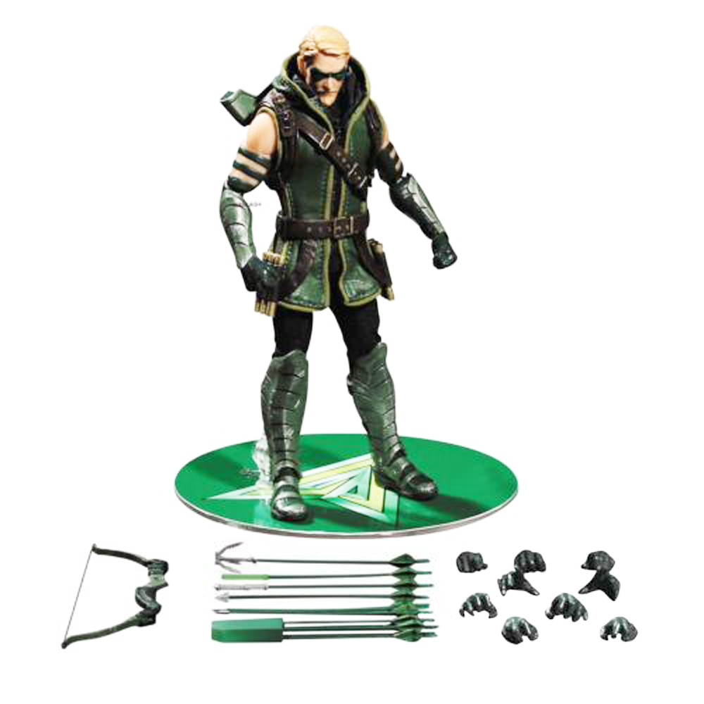 Mezco DC Comics Green Arrow One:12 Collective Figure 15cm/6 Free Shipping screw holes distribution disassemble memory board for iphone 4s yellow