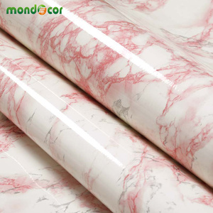 Image 4 - 3M/5M/10M Modern Waterproof Vinyl Self adhesive Wallpaper Marble Contact Paper Kitchen Cupboard Shelf Drawer Liner Wall Stickers