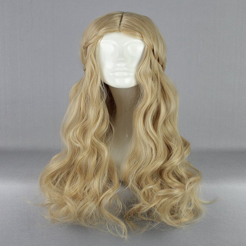 Maleficent Cosplay Wigs Princess Aurora Cosplay Wigs Heat Resistant Synthetic Cosplay Wig Halloween Carnival Party Cosplay Wigs