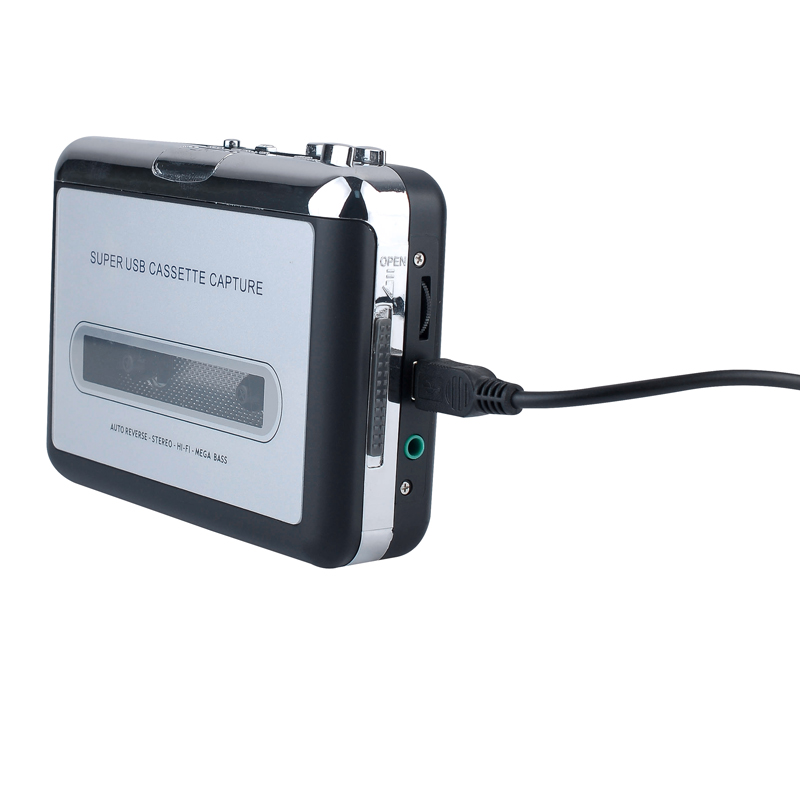 cassette to mp3 converter via PC transfer, convert tape cassette to MP3 through PC for Win7 Win8 Win10 MAC OS free shipping