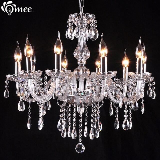 Grosse Grsse Wohnzimmer Kronleuchter Kristall Lampe Schlafzimmer Luxus Kerze LED Leuchten Moderne Lampen Cristal De
