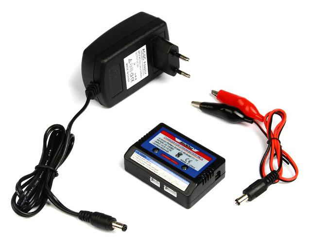 Li-polímero Bateria LiPo RC 7.4 v 11.1 v AKKU bateria equilíbrio simples Carregador de Equilíbrio 2 s 3 s adaptador de carregador