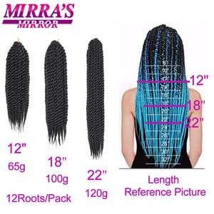 Image 5 - Havana Mambo extensiones de cabello trenzado de Color puro, 6 paquetes de 12, 18 y 22 pulgadas