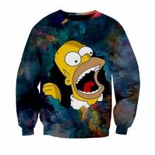 Del Envío Y Disfruta En Simpsons Sweatshirt Compra Gratuito ZwqIXa4yx