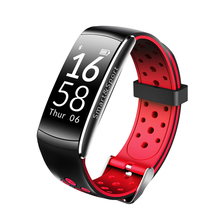 New Q8 smart sports bluetooth bracelet Pedometer call reminders heart rate monitoring waterproof bracelet for Android and iOS P3