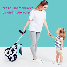 2019 new children's tricycle trolley 2-3-6 years old bicycle lightweight folding