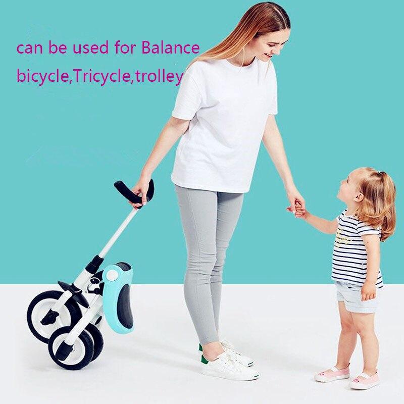 2019 nouveau chariot à tricycle pour enfants 2-3-6 ans vélo léger pliant poussette de vélo