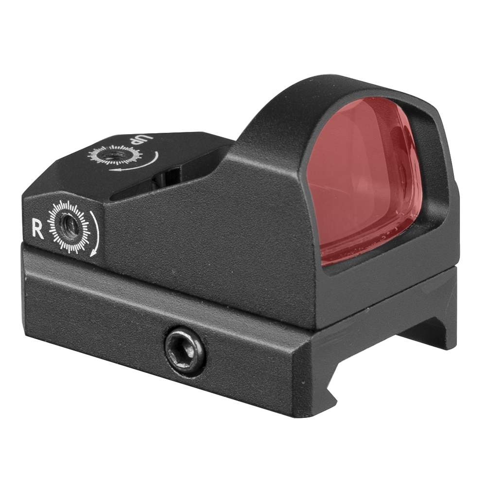 1X 2MOA  Red Dot Scope Mini Sight  Button Adjustment Tactical  Waterproof Hunting Scope Real Hunting Using