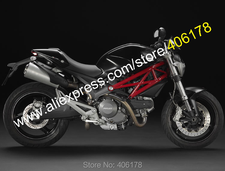 Hot Sales,For Ducati 696 795 796 M1100 2009-2013 Monster 1100 1100S Black New ABS Bodywork Fairing (Injection molding) julie hansen m sales presentations for dummies