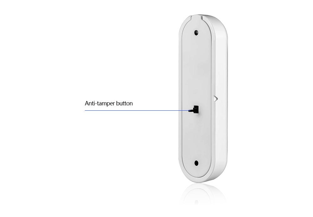 1368pcslot New KERUI open reminder Sensor 433mhz While Wireless Home Alarm Window Door Sensor to Detect Open Door_4