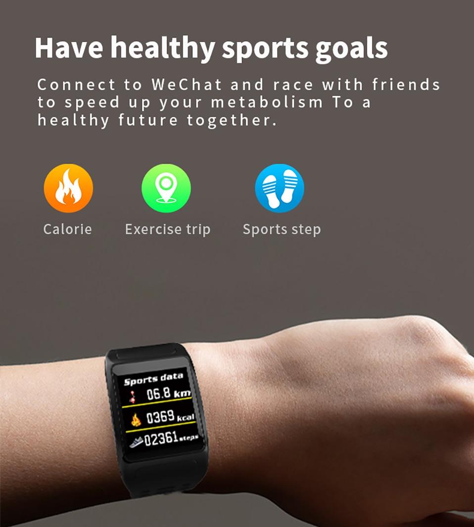 ALANGDUO Z01 Smart Watch Color Screen Smart Wristwatch Big Dials Heart Rate Monitor Micro sensor Waterproof Smart Watch Bracelet (9)