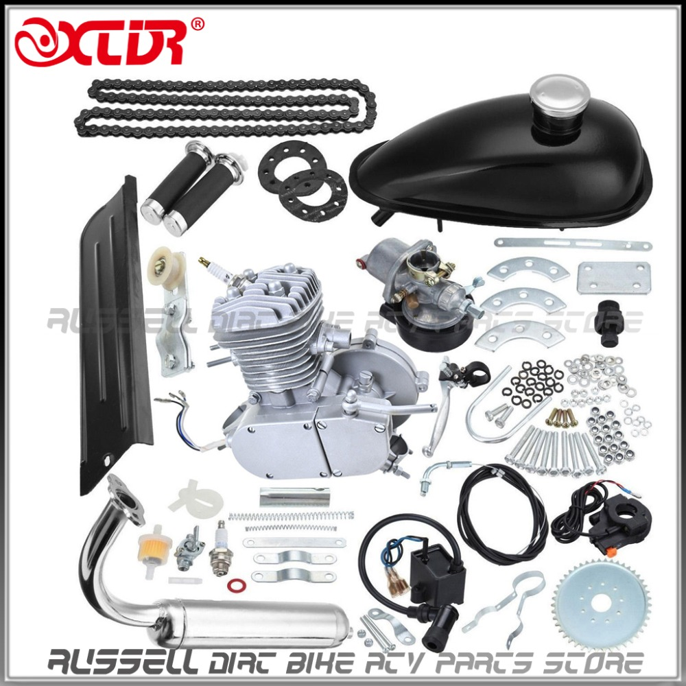 US $119 19 |80cc 2 Stroke Engine Complete kits For GAS MOTORIZED Cycle Bike  Bicycle-in Engines from Automobiles & Motorcycles on Aliexpress com |