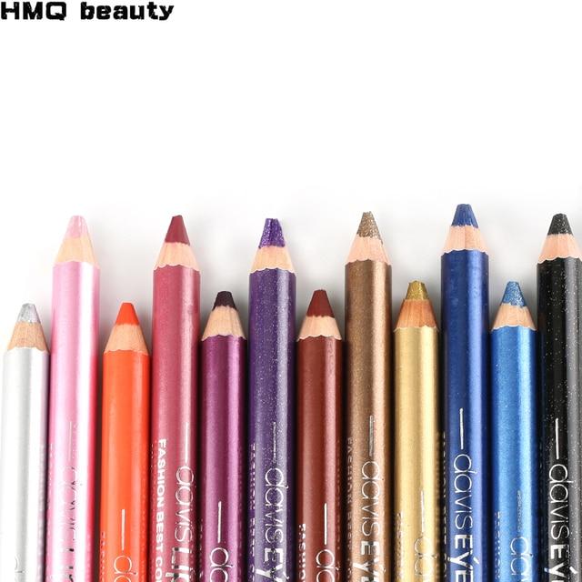 1pc Eyeliner Pen Highlighter Waterproof Eyeshadow Pencil Cosmetic Glitter EyeShadow Pen Cosmetic Glitter Eye Shadow