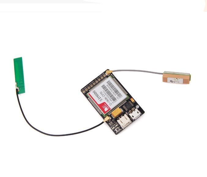 ФОТО LoNet 808 - GSM/GPRS Mini + Breakout GPS 113990107 module Seeed