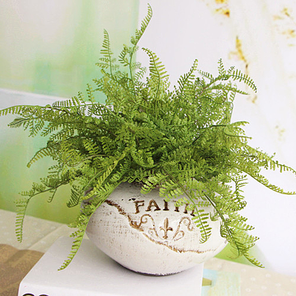 Fern Fake Plant Artificial Floral Foliage Home Party Decor