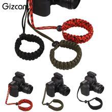 Gizcam Новый цифровой Камера наручные ремень DIY для ткачество ручной пояса против потери падают хвата ремень