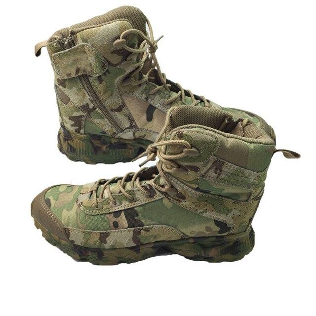 Camouflage militaire tactique Bottes Combat Hommes Armée Bottes lbJD2